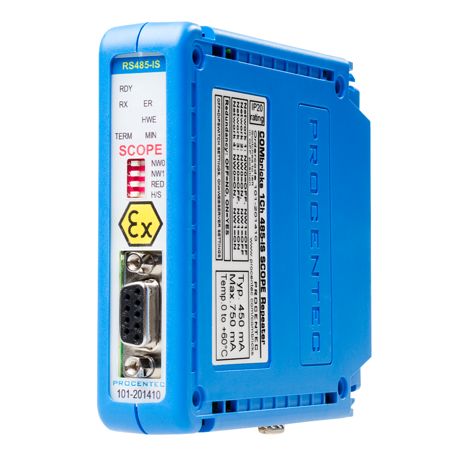 PROFIBUS RS485-IS Module - visual 2