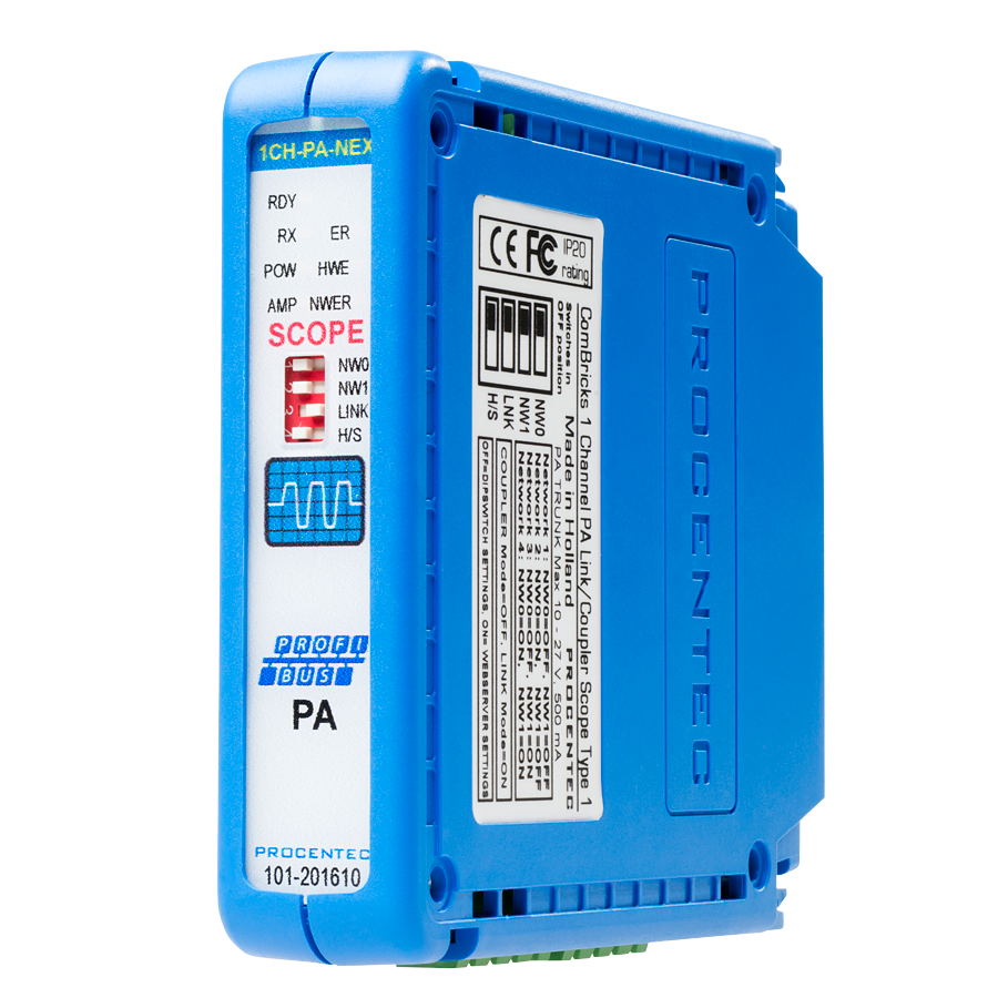ComBricks PROFIBUS PA link/coupler module - visual 2