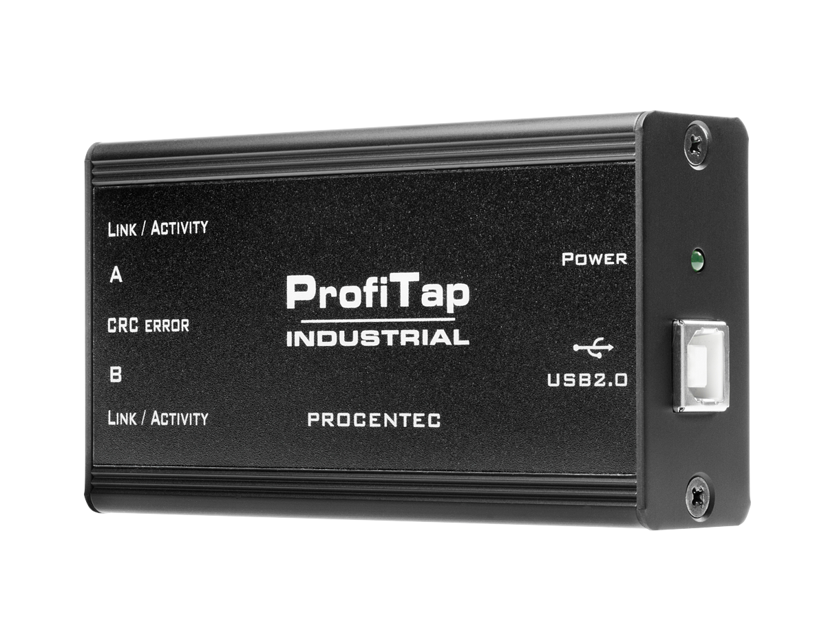 ProfiTap Industrial - PROFINET Monitoring Interface - visual 1
