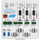 ProfiHub B2+ - 3 Segment redundant PROFIBUS DP Repeater - visual 2