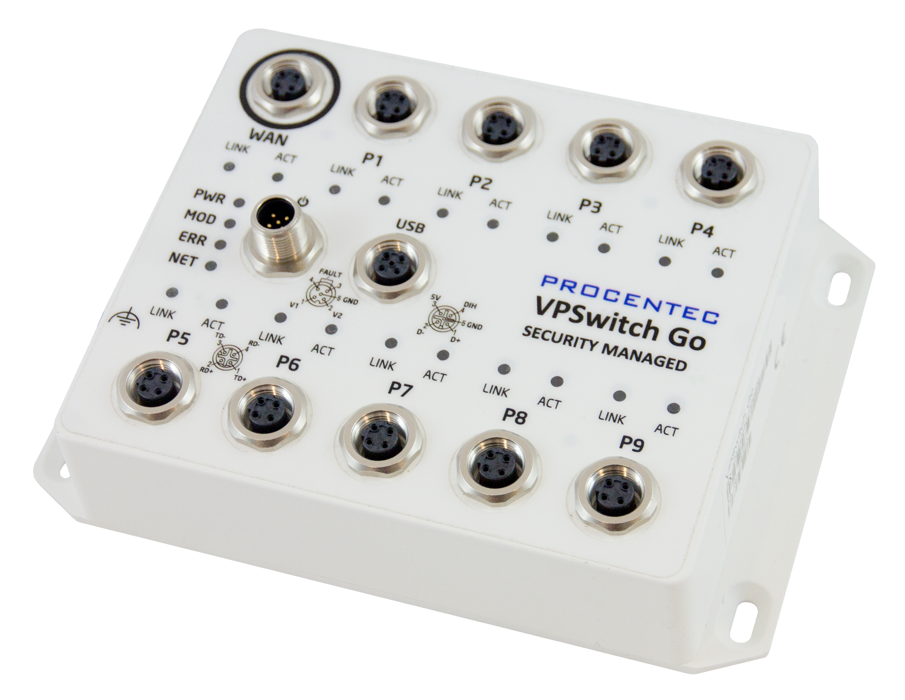 VPSwitch Go Security Managed 10TX-M12