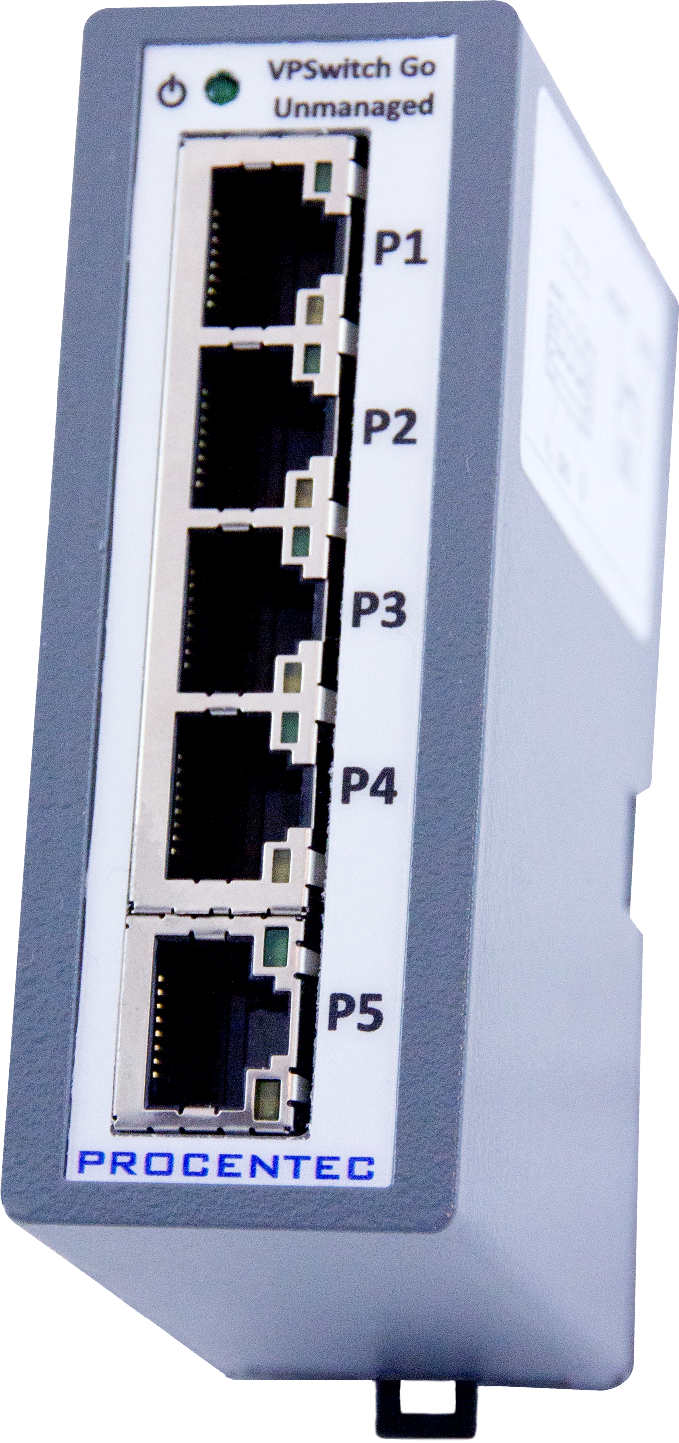 VPSwitch Go Unmanaged 5TX - visual 1