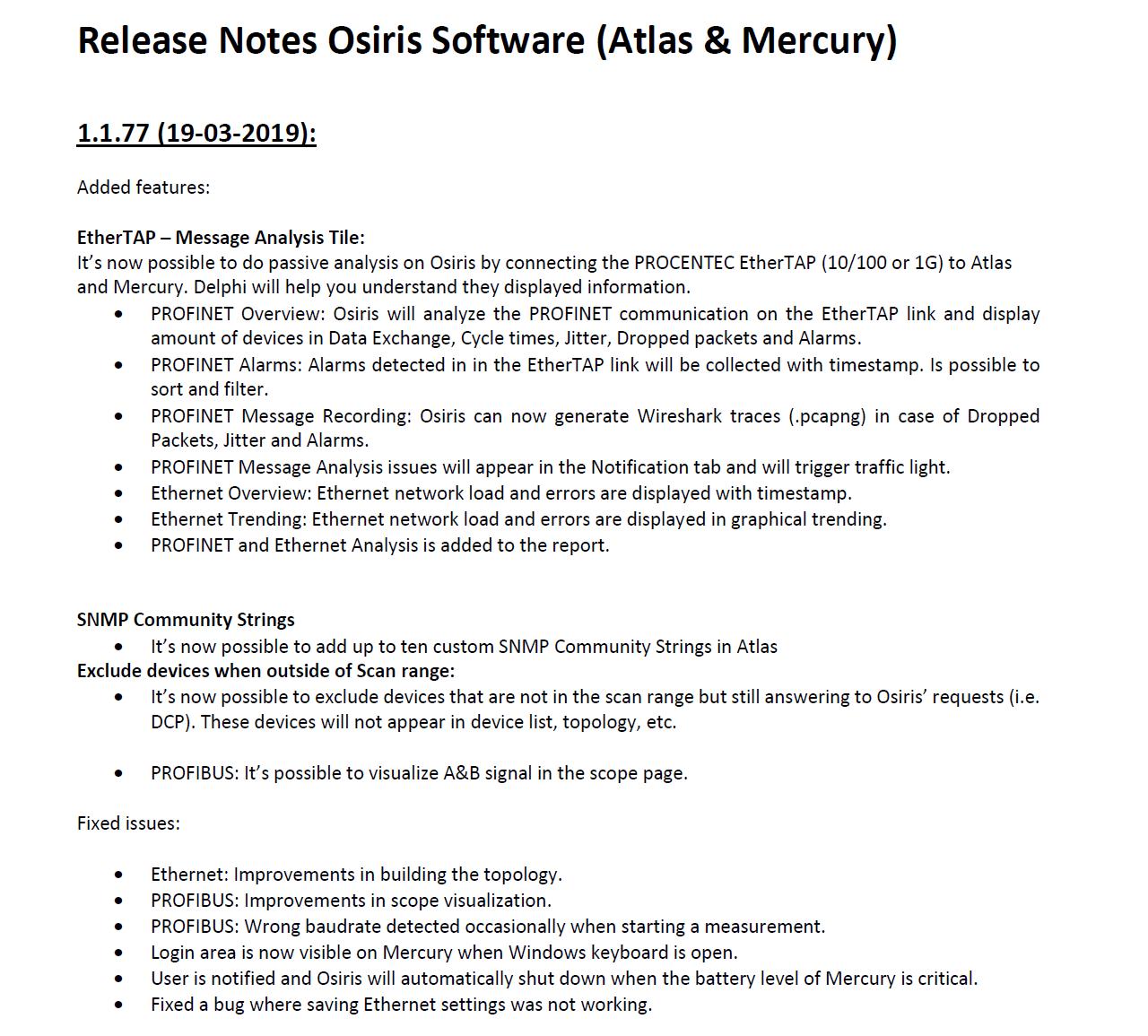 Download Software & Firmware - PROFIBUS en PROFINET - Procentec